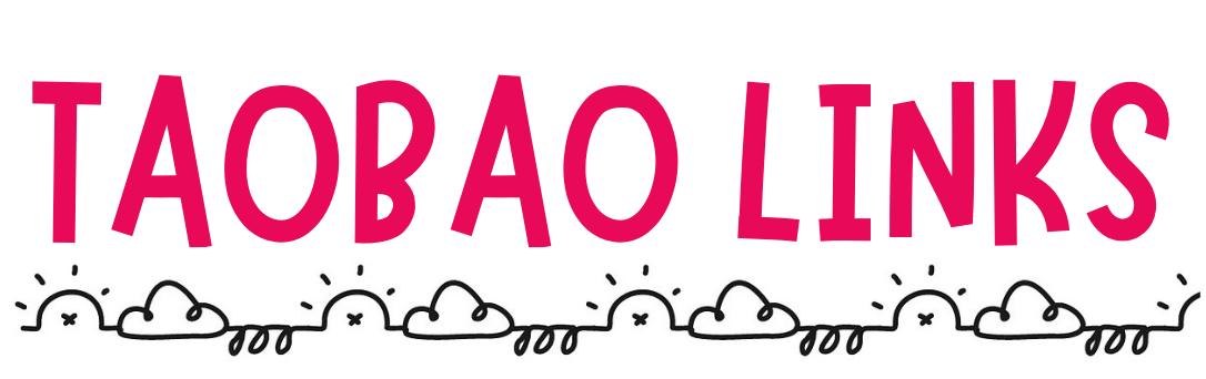 taobao links to buy