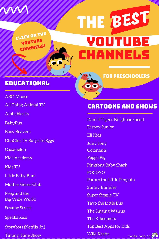 The Best Preschool YouTube Channels 2021