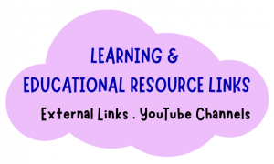 learning and educational resource links for toddler and preschool