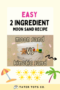 diy moon sand vs kinetic sand